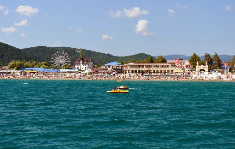 Архипо осиповка фото поселка и пляжа